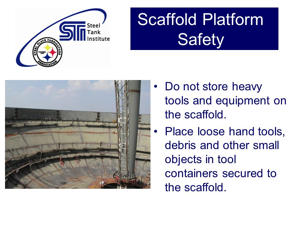 Scaffold Platform Safety