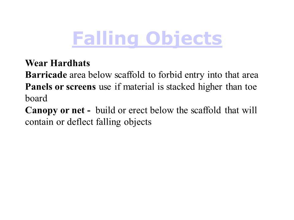 Falling Objects Wear Hardhats