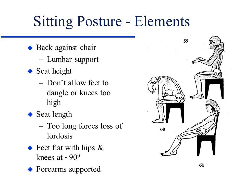Sitting Posture - Elements