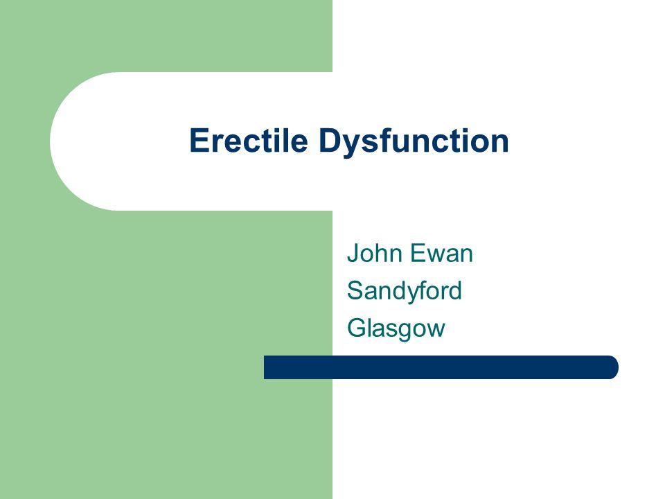 John Ewan Sandyford Glasgow