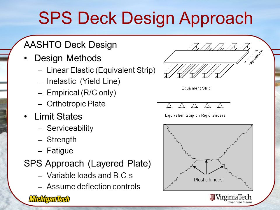 SPS Deck Design Approach