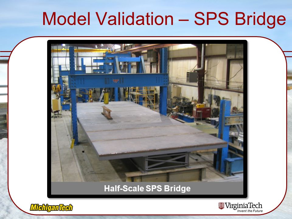 Model Validation – SPS Bridge