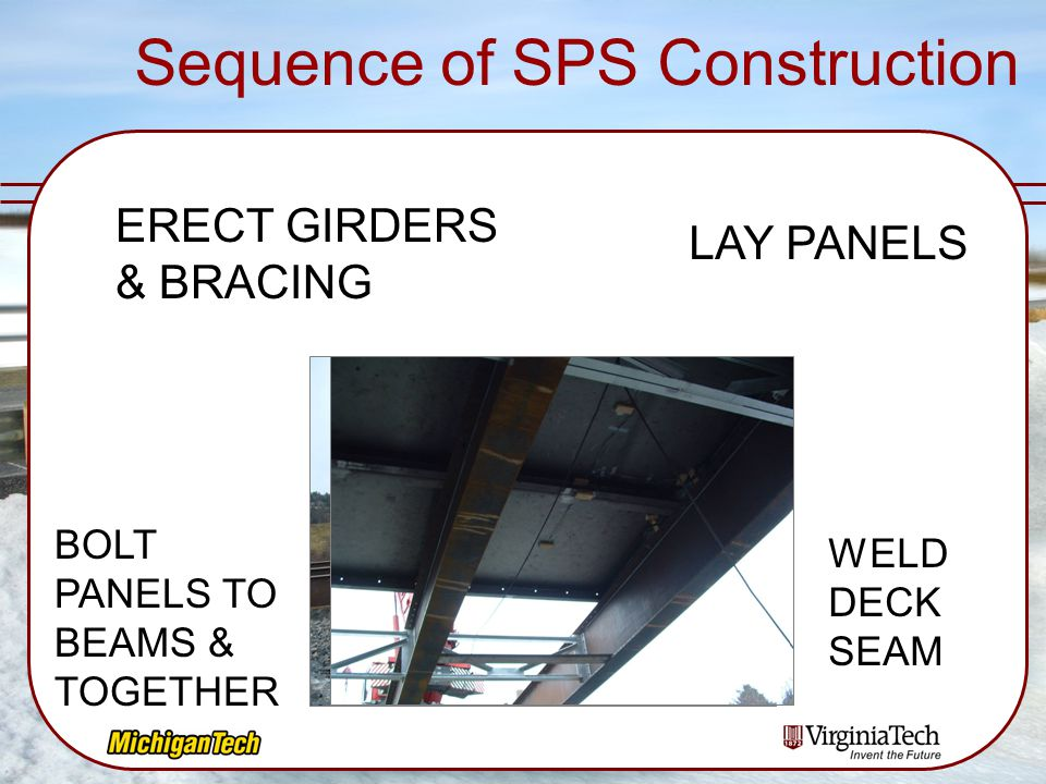 Sequence of SPS Construction