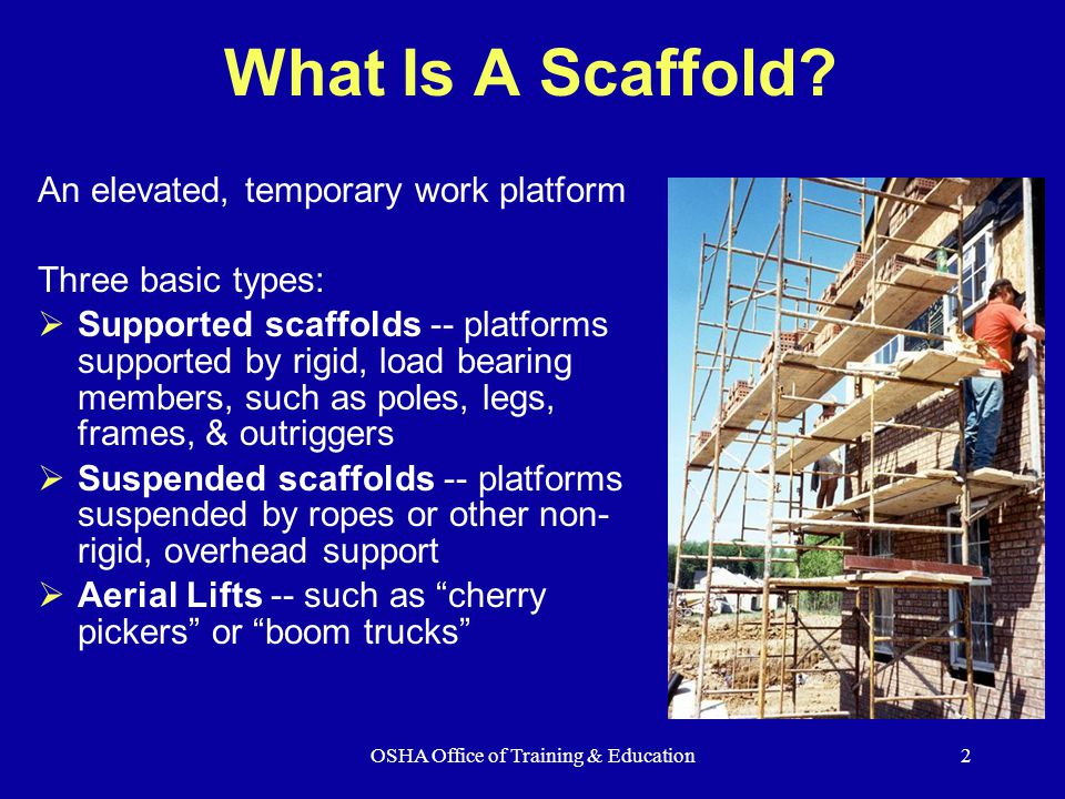 how to get a scaffolding ticket