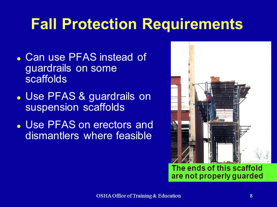 Osha Office Of Training Amp Education Ppt Download