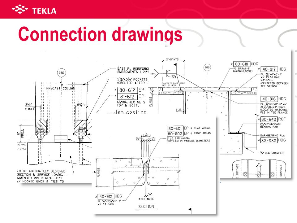 Connection drawings Drawings to show placement of embed for sharing information to 3rd party.