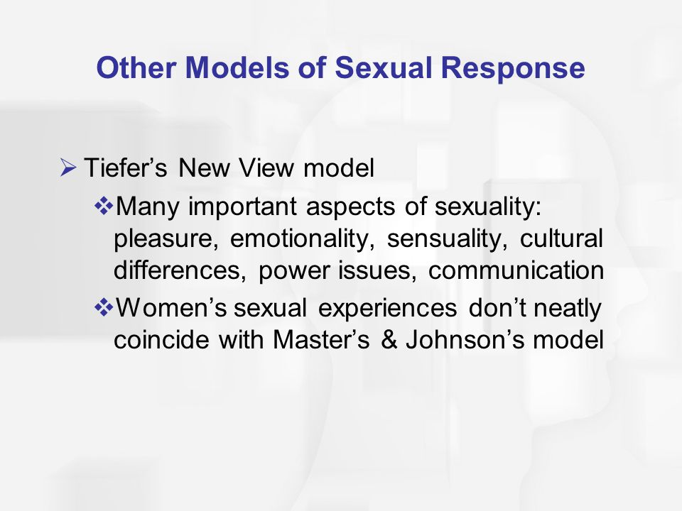Other Models of Sexual Response