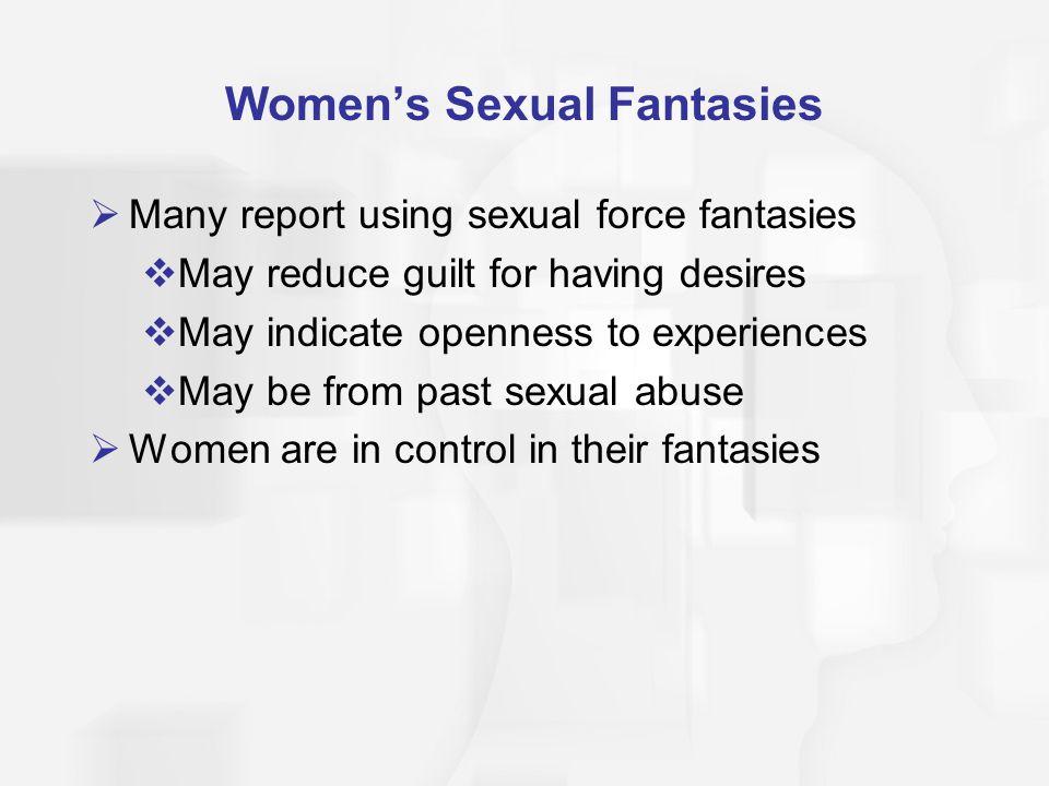 Women's Sexual Fantasies