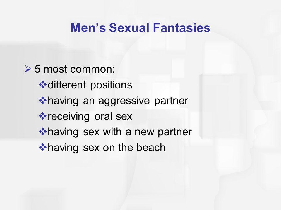 Men's Sexual Fantasies