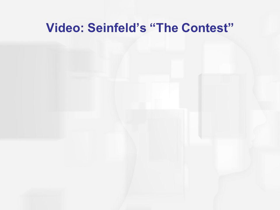 Video: Seinfeld's The Contest