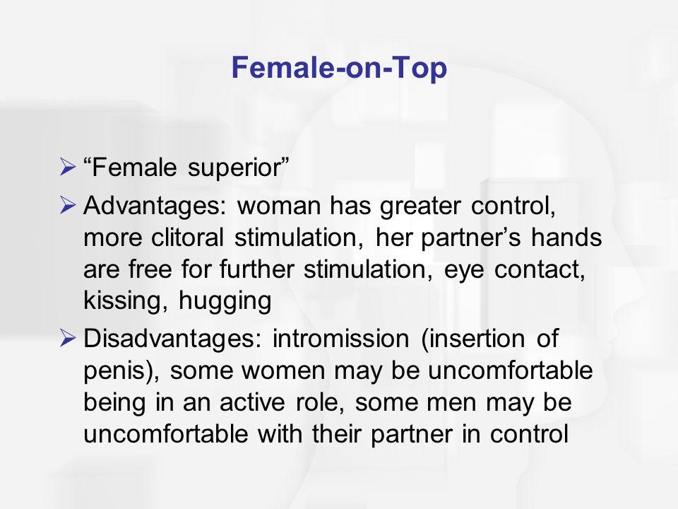 Female-on-Top Female superior