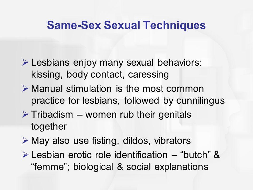 Same-Sex Sexual Techniques