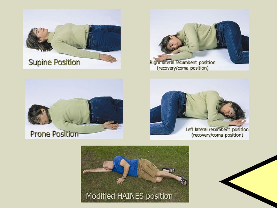 Modified HAINES position