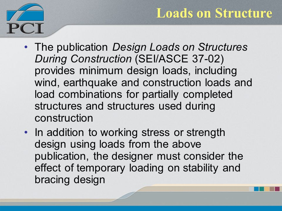 Loads on Structure