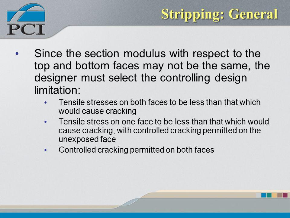 Stripping: General