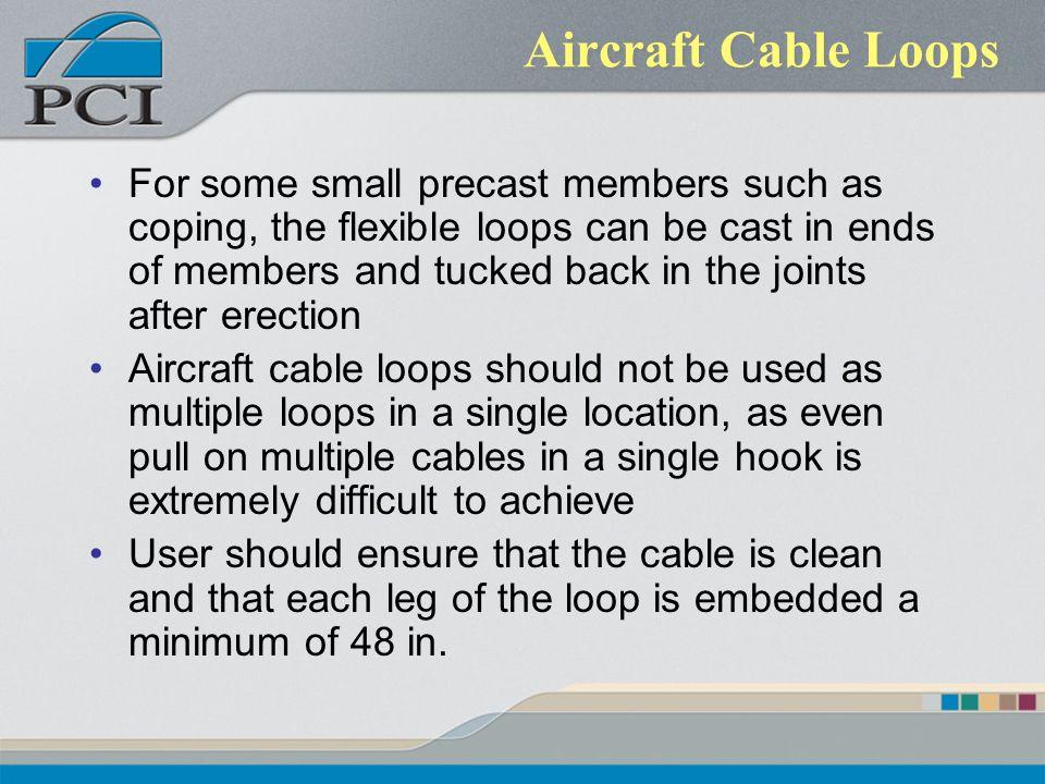 Aircraft Cable Loops