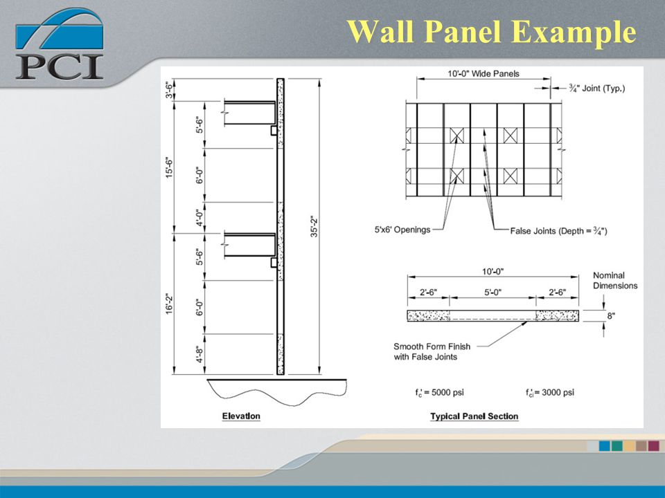 Wall Panel Example