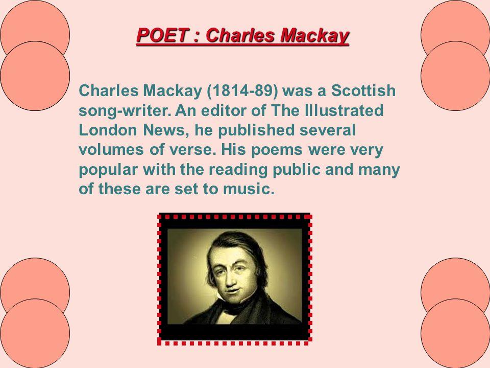 POET : Charles Mackay