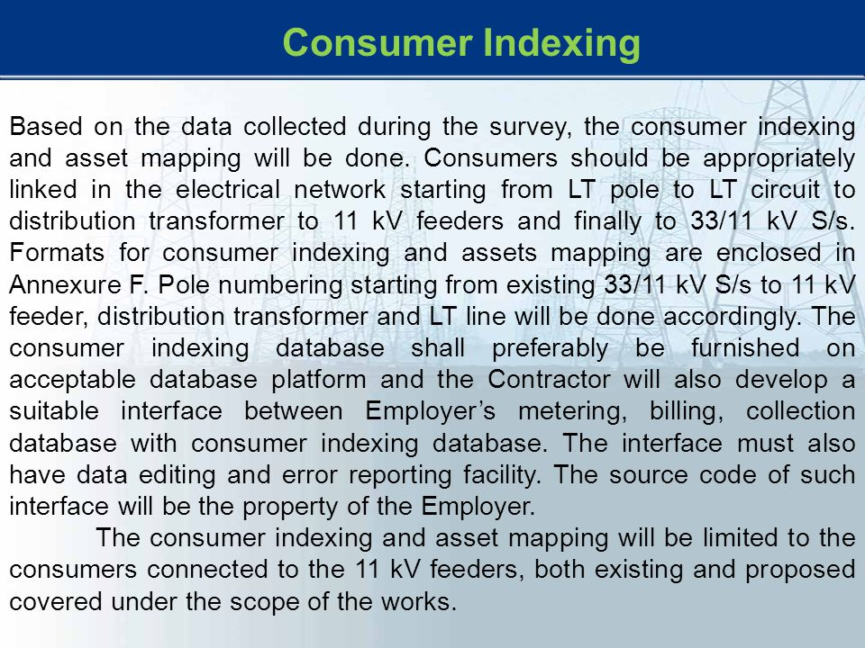 Consumer Indexing