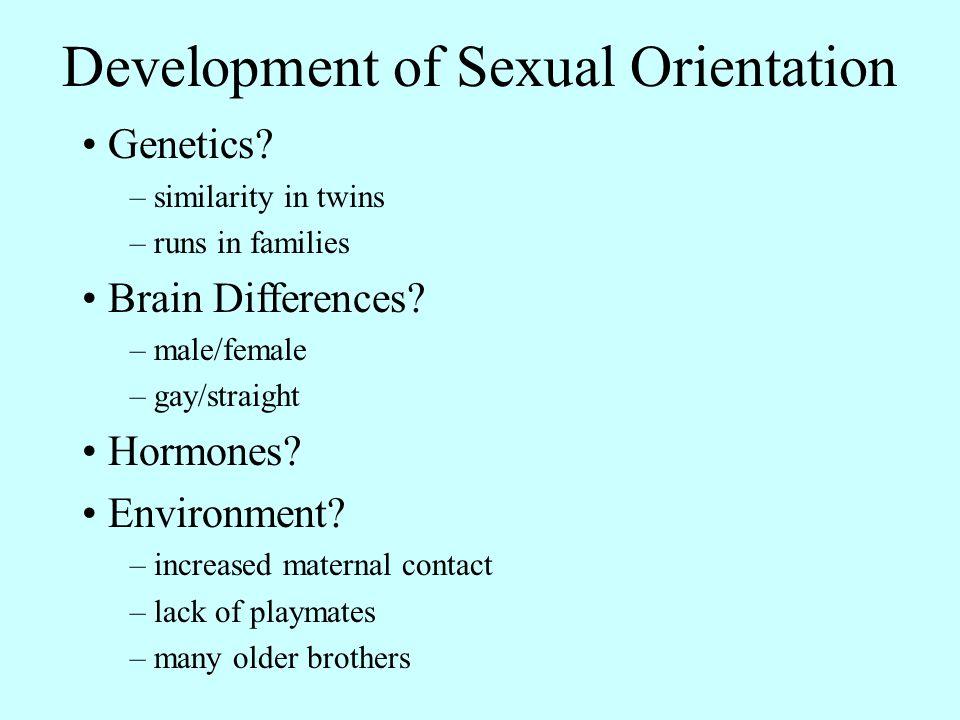 Development of Sexual Orientation