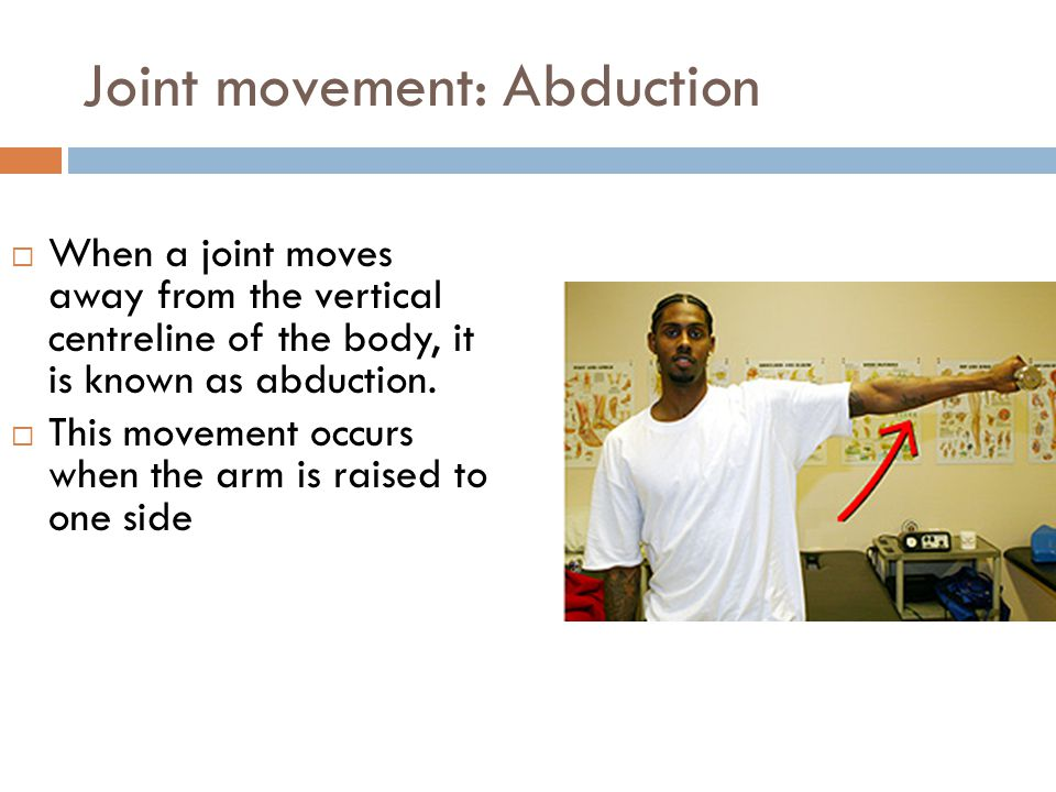 Joint movement: Abduction