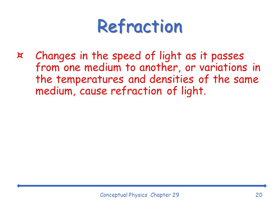 Conceptual Physics Chapter 29