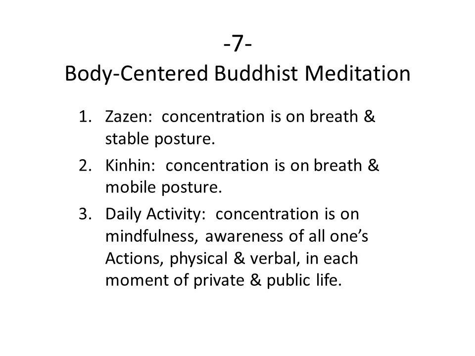-7- Body-Centered Buddhist Meditation
