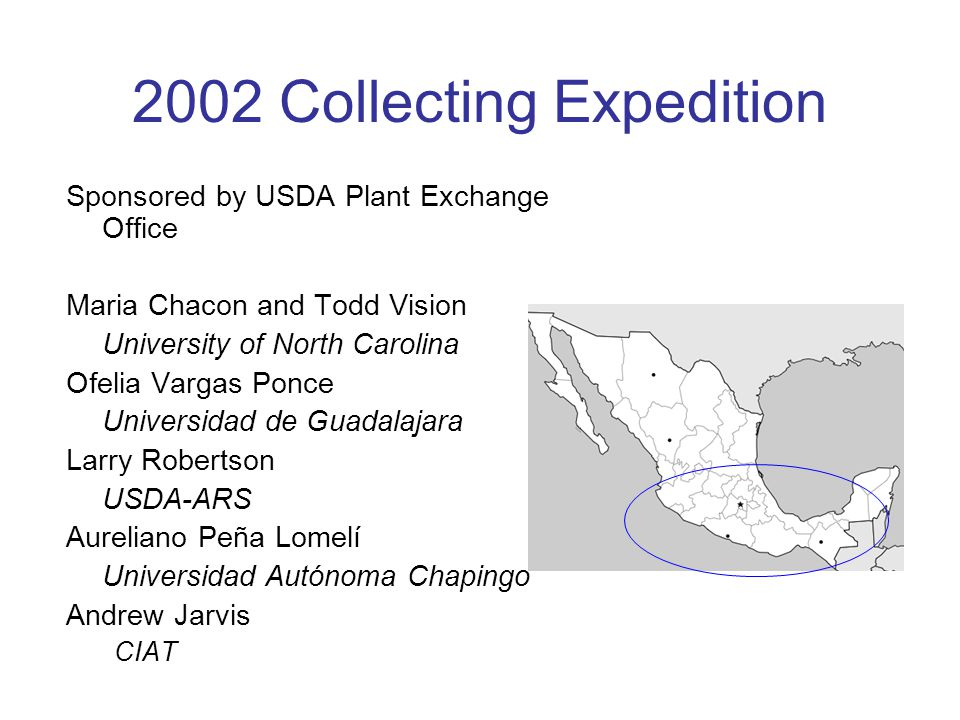 2002 Collecting Expedition