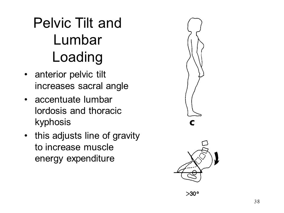 Pelvic Tilt and Lumbar Loading