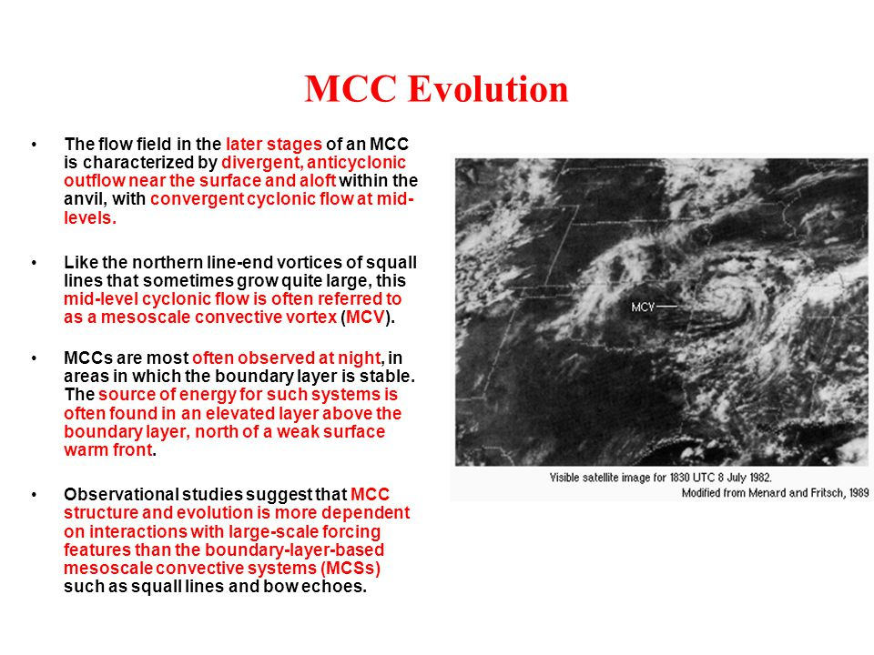 MCC Evolution
