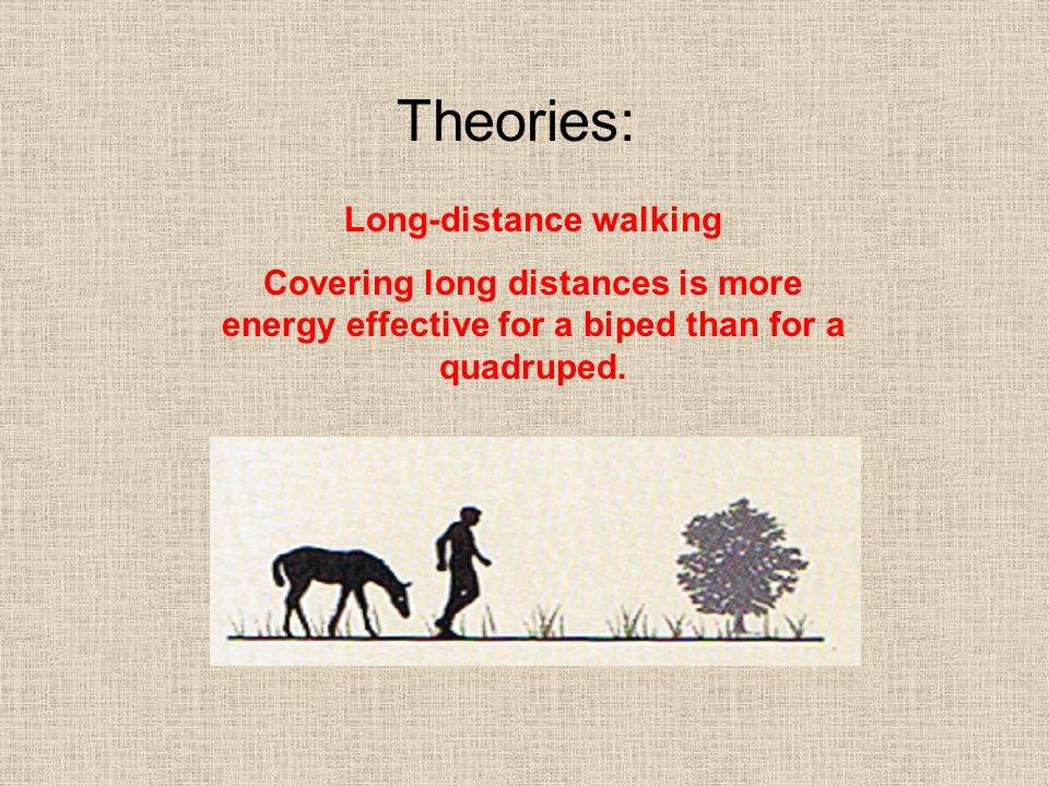 Long-distance walking