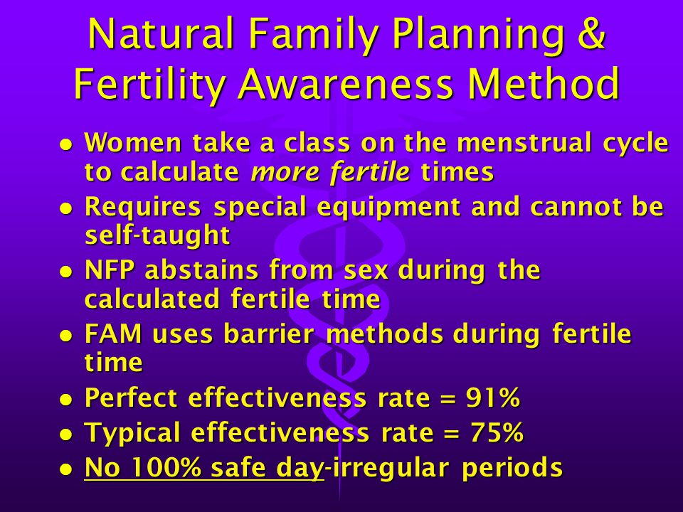 Natural Family Planning & Fertility Awareness Method