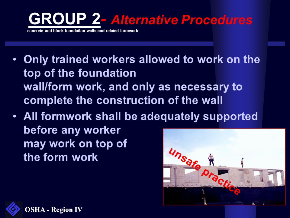 GROUP 2- Alternative Procedures