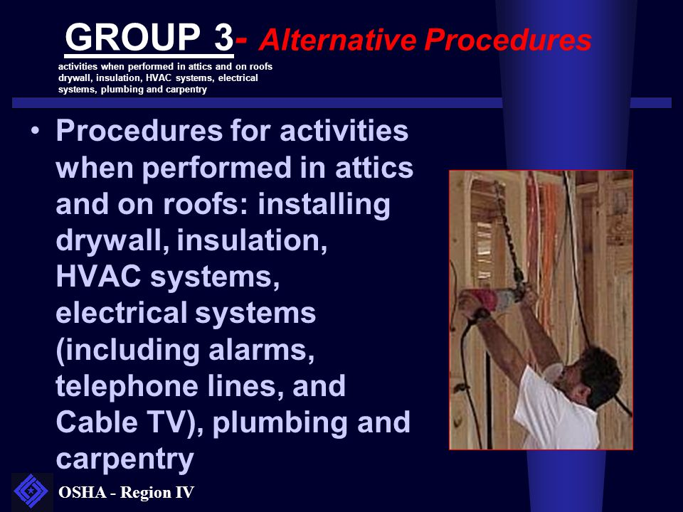 GROUP 3- Alternative Procedures