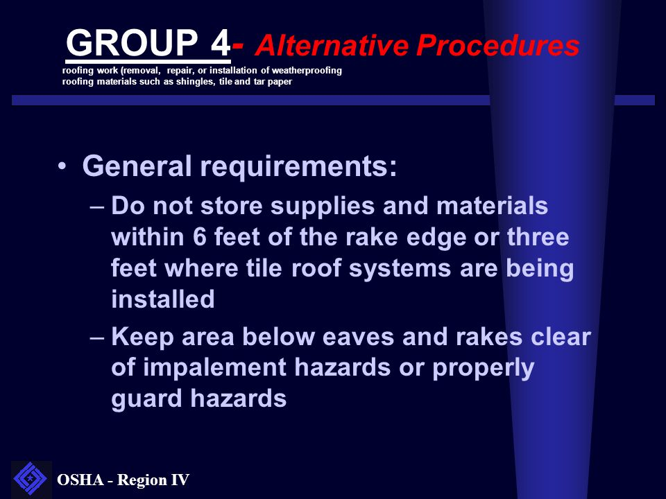 GROUP 4- Alternative Procedures