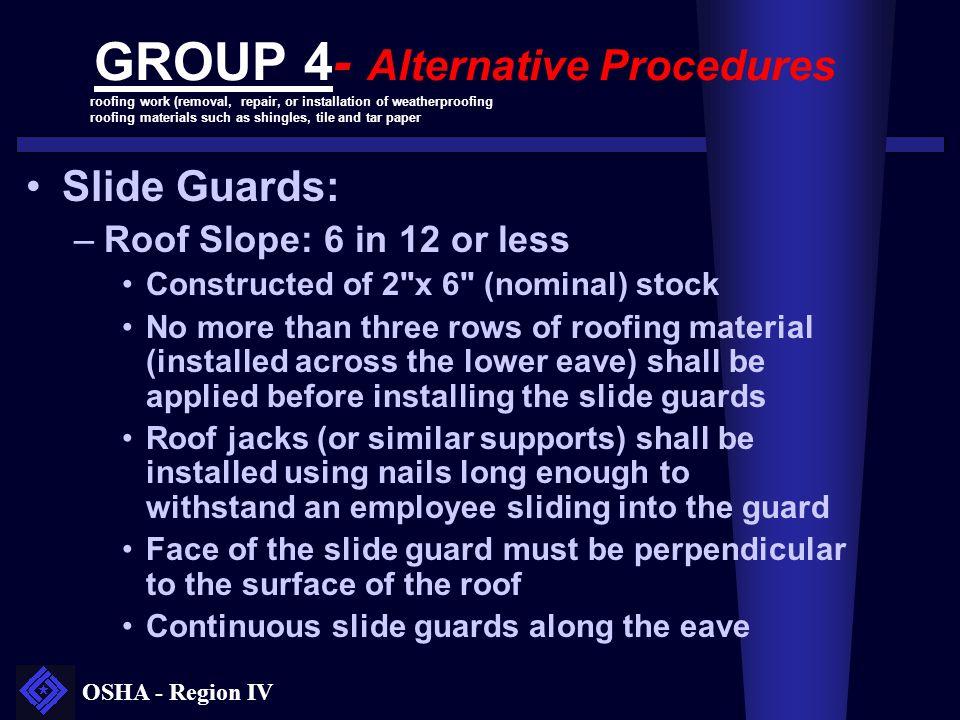 GROUP 4- Alternative Procedures