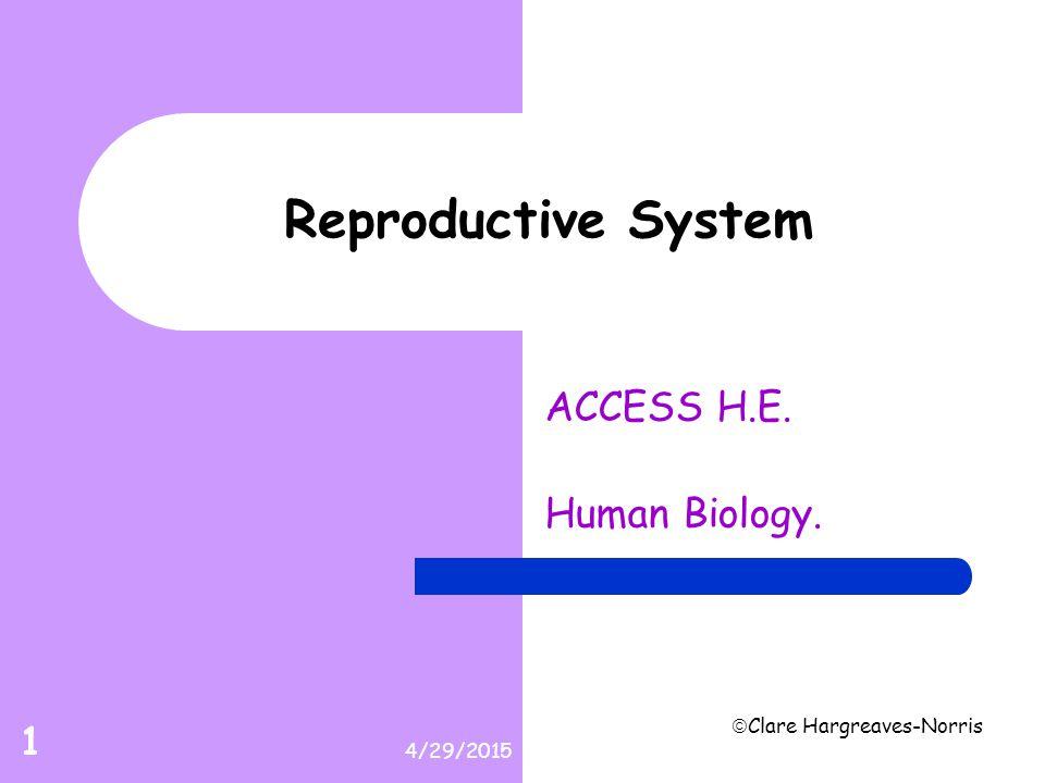 ACCESS H.E. Human Biology.