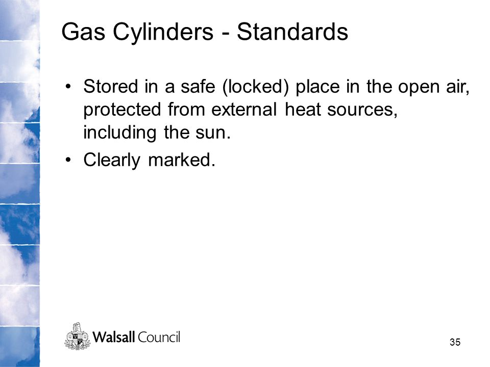 Gas Cylinders - Standards
