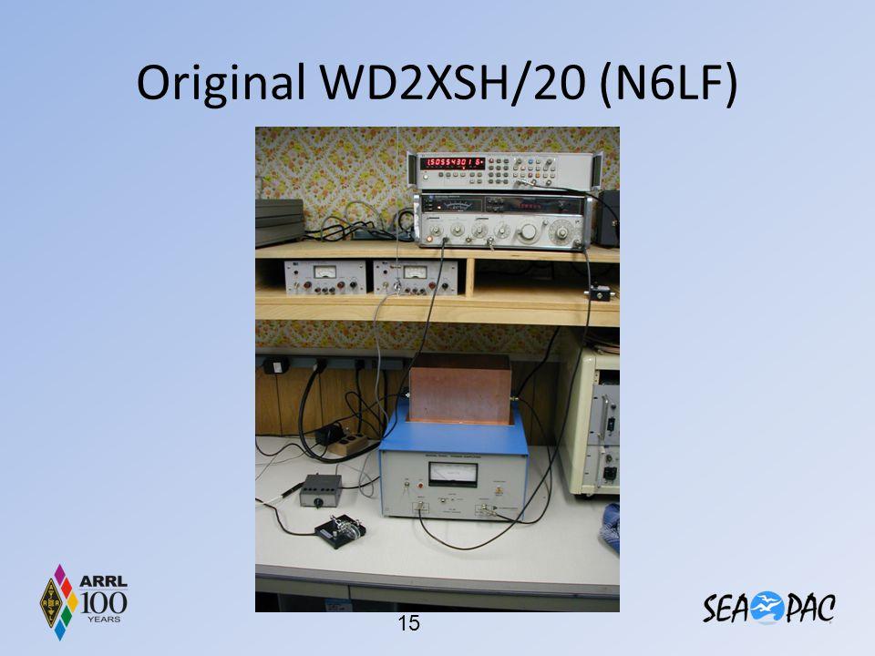 Original WD2XSH/20 (N6LF)