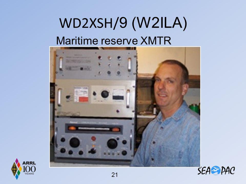 WD2XSH/9 (W2ILA) Maritime reserve XMTR