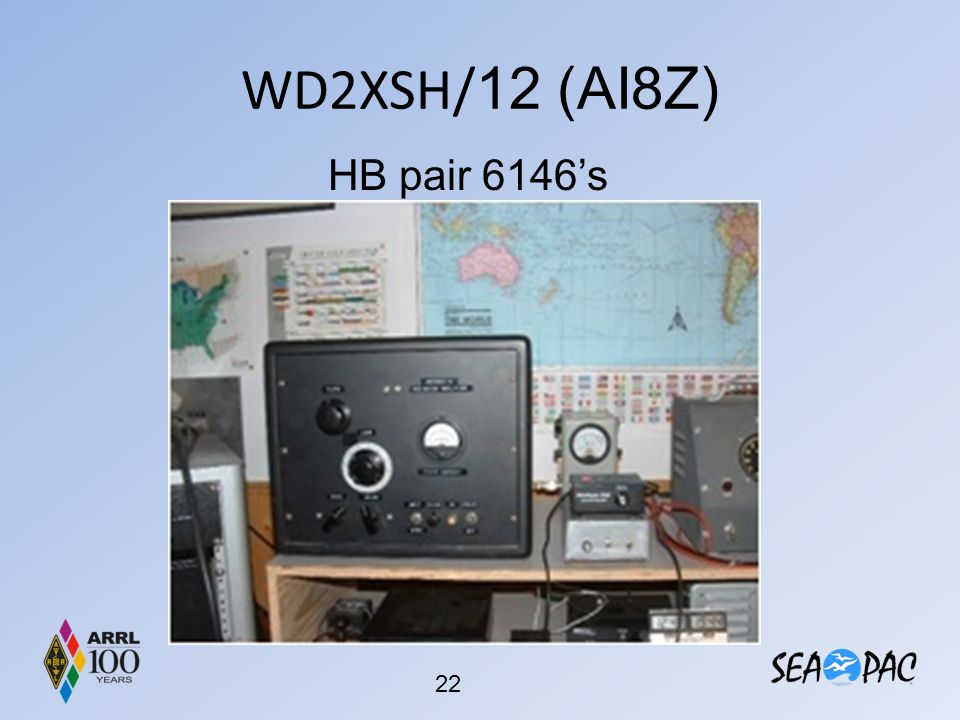 WD2XSH/12 (AI8Z) HB pair 6146's