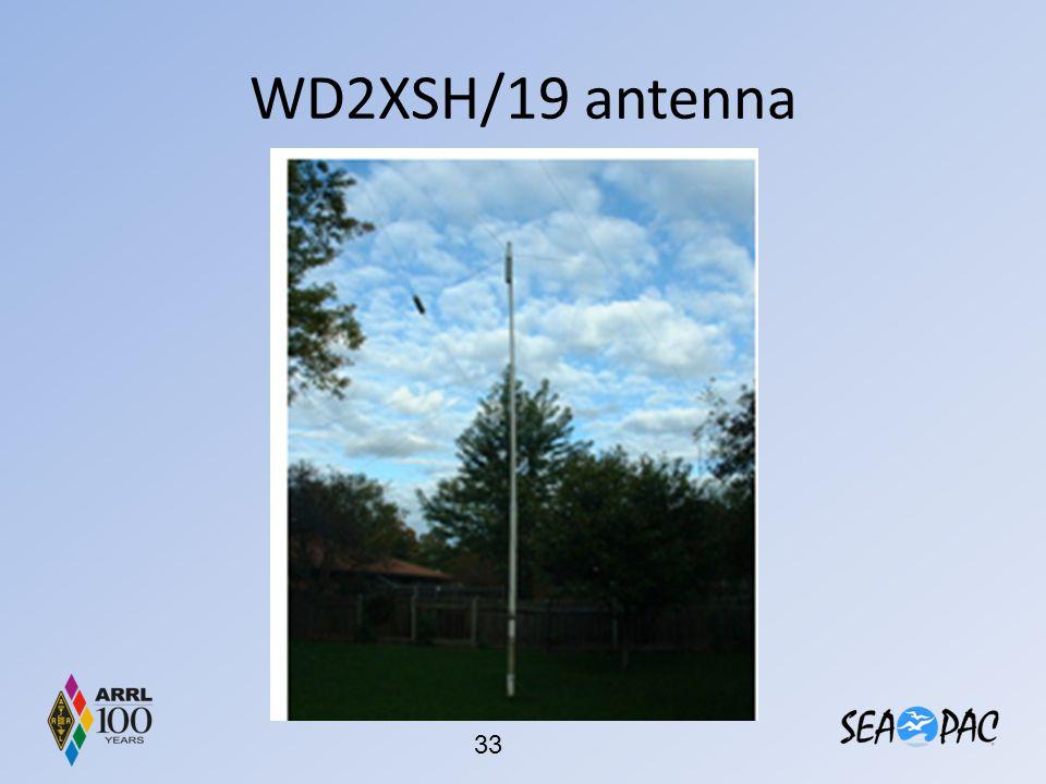 WD2XSH/19 antenna