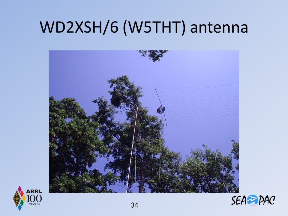 WD2XSH/6 (W5THT) antenna
