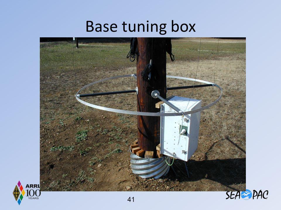 Base tuning box