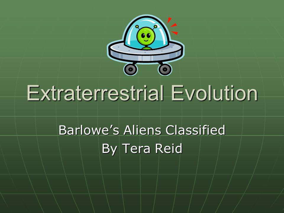 Extraterrestrial Evolution