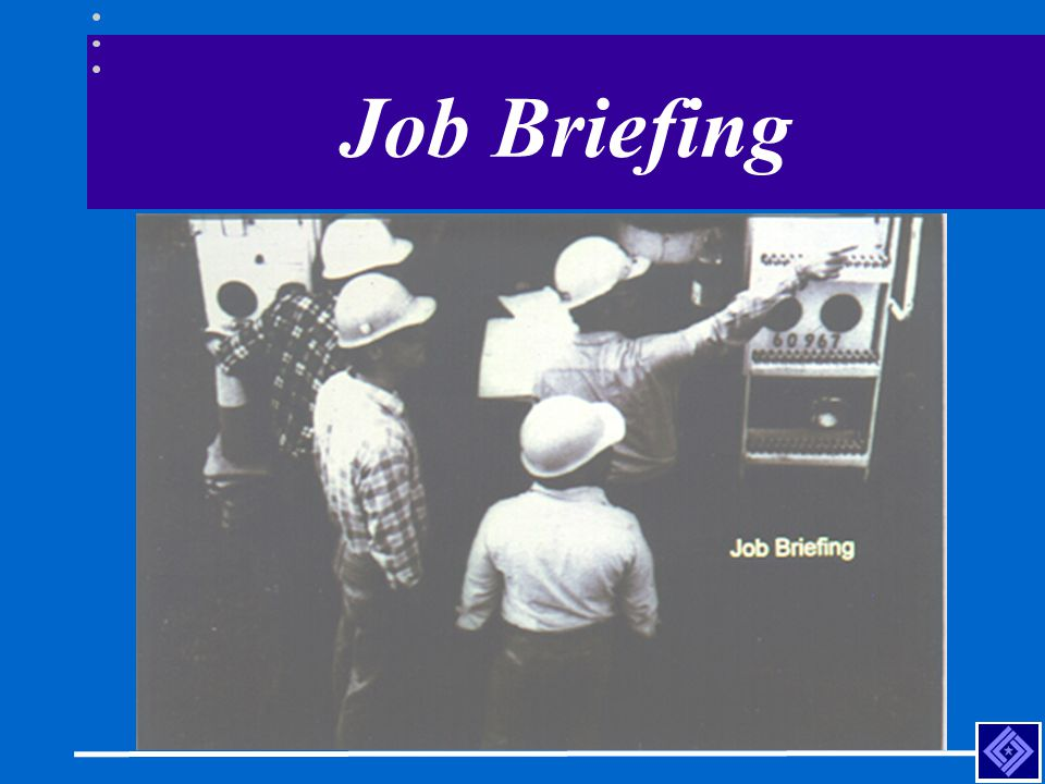 Job Briefing