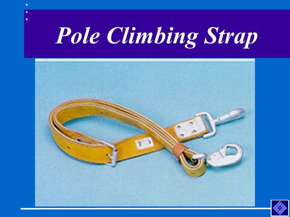 Pole Climbing Strap