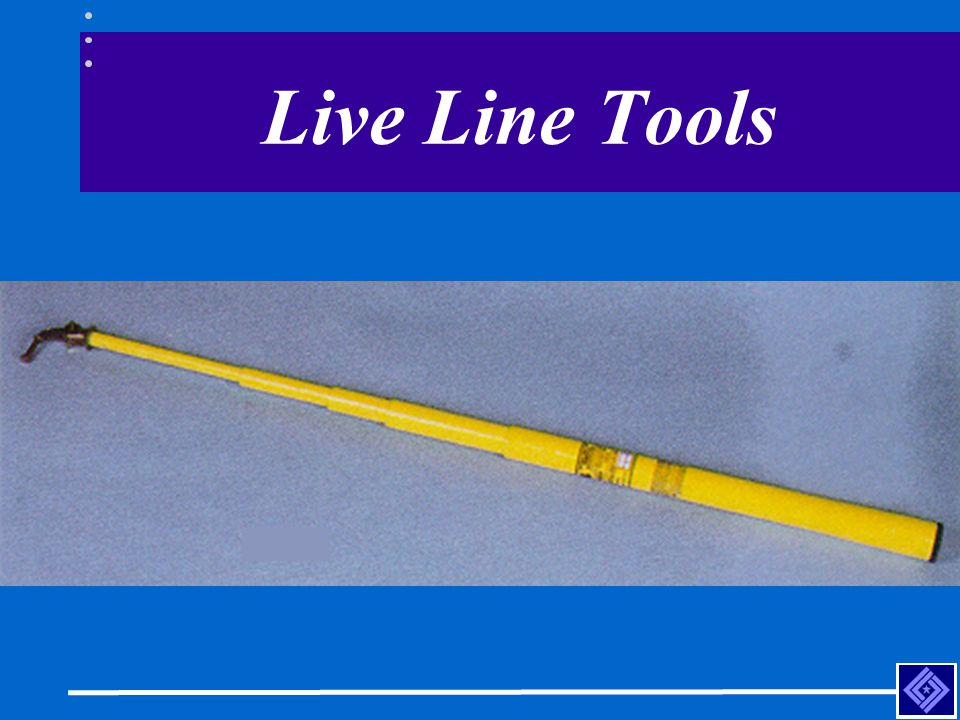 Live Line Tools Telescoping hot-stick