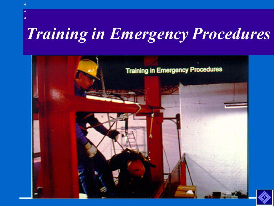 Training in Emergency Procedures