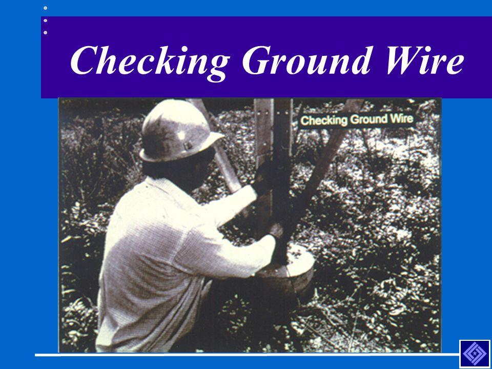 Checking Ground Wire